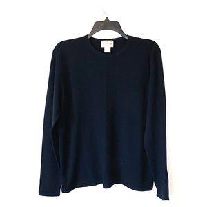Vintage Henri Bendel merino wool sweater EUC